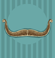mustaches background for design vector image vector image