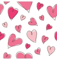 pattern of hearts vector image