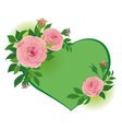 roses to Valentines Day vector image vector image