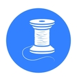Spool of thread icon of for vector image vector image