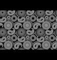 abstract seamless mandala pattern vector image vector image