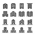 building icon vector image