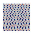 geometric bird on grey background pattern seamless vector image vector image