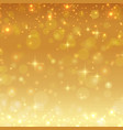 gold shiny glitter christmas background vector image