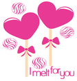 I Melt For You vector image vector image