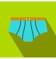Men swimming trunks flat icon vector image
