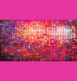 mosaic of colorful squares vector image