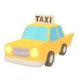 Taxi icon cartoon style vector image vector image