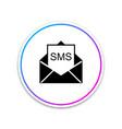 envelope icon isolated on white background vector image