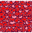 hearts seamless vector image vector image