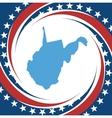 Vintage label West Virginia vector image vector image
