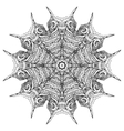 Black and white zenmandala