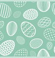 easter egg seamless pattern pastel color holiday vector image vector image
