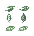 Eco icons 1 vector image vector image