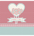 Happy mothers day card vector image vector image