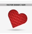 heart love design vector image vector image