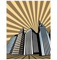 Skyscraper Towers vector image