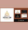 attorney law logo design template