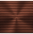 Background with Zigzag Pattern and Bronze Texture vector image vector image