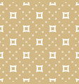 golden seamless pattern geometric gold texture vector image vector image