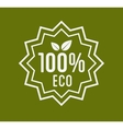Organic Product Guaranteed Label or Badge vector image vector image