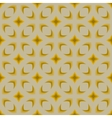 Simple geometric pattern in 1970s style vector image vector image