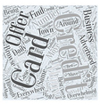 So Many Credit Card Offers What To Do Word Cloud vector image vector image
