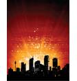 city lights - vector image