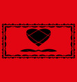 a set of frames for lovers vector image vector image