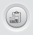 laboratory analysis flat icon vector image