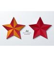 modern star banner background vector image vector image