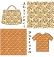 Seamless Pattern Pictogram Cones vector image vector image