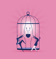 set free ideas - business concept vector image vector image