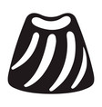 candy bonbon icon simple style vector image vector image