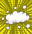 Cloud explosion vector image vector image