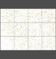 gold star confetti celebrations simple festive vector image