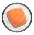 japan sushi icon cartoon style vector image vector image