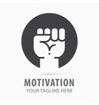 motivation icon symbol vector image