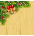 pine decor vector image