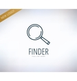 Search logo elements Find information vector image