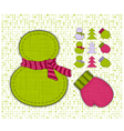 winter cartoon vector image vector image
