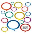 Speech bubbles EPS10 vector image