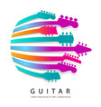 colorful festive music graphic vector image