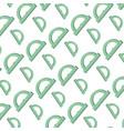 conveyor ruler school tool background vector image vector image