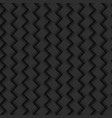 dark abstract background wicker texture seamless vector image vector image