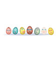 easter eggs jokes vector image vector image