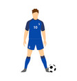 france football jersey national team world cup vector image