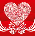 Happy valentine background with decorative drops vector | Price: 1 Credit (USD $1)