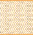 hexagon patern yellow bee cell vector image vector image