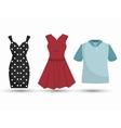 sewing garments isolated icon design vector image vector image